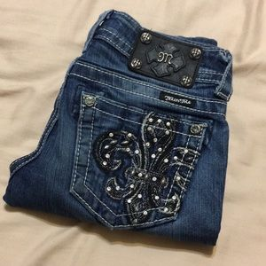 Miss Me Skinny Jeans size 24